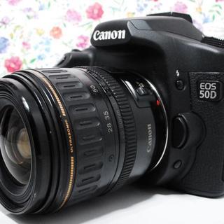 キヤノン(Canon)の★Wi-Fi★初心者入門機★ Canon EOS 50D レンズセット(デジタル一眼)