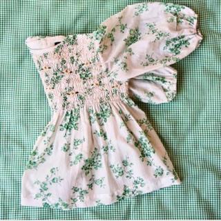 Caramel baby&child  - bonjour diary green blouse トップス チュニック