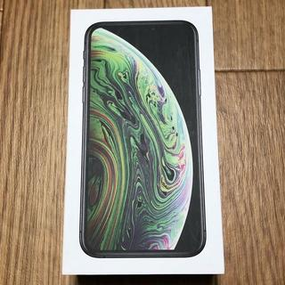 iPhone - iPhone XS simフリー 256GB space gray 新品同様