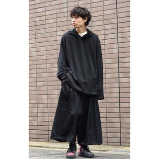 Yohji Yamamoto - yohjiyamamoto 19ss ロングフーディー