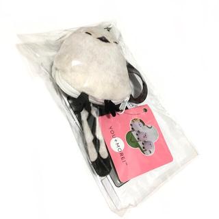 フェリシモ(FELISSIMO)のフェリシモ シマエナガ バッグハンガー ぬいぐるみ 雪の妖精 新品(キーホルダー)