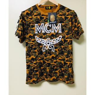 A bathing ape x MCM コラボ Tシャツ