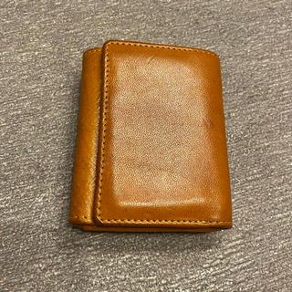 ホワイトハウスコックス(WHITEHOUSE COX)の牛革 コンパクトウォレット 日曜まで2500→1650(折り財布)