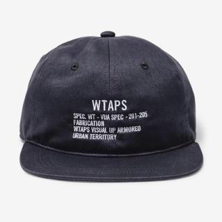 W)taps - WTAPS T-6H 02 / CAP. COTTON. TWILL 黒