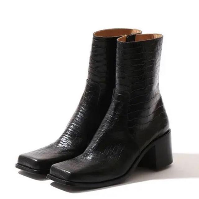 JOHN LAWRENCE SULLIVAN(ジョンローレンスサリバン)のジョンローレンスサリバン スクエアトゥー 9 メンズの靴/シューズ(ブーツ)の商品写真