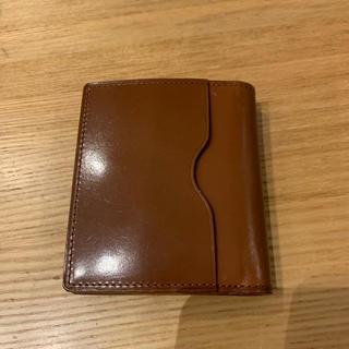 GANZO - GANZO シンブライドル BOX小銭入れ付きコンパクト札入れ