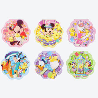 Disney - メルカリ最安!ディズニーイースター【うさピヨ メモ帳セット】