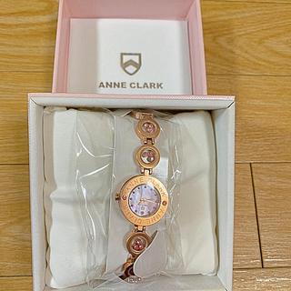アンクラーク(ANNE CLARK)のANNE CLARKのピンクシェルウォッチ(腕時計)