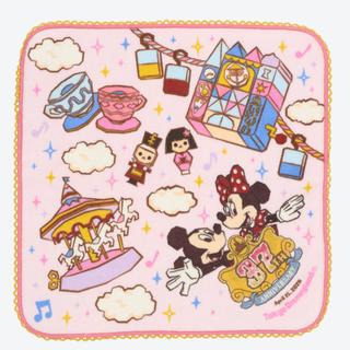 ラクマ最安!ディズニー37周年【ミニタオル】