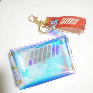 アイコン(iKON)の♥️チエちゃん様専用♥️iKON ミニバッグ付きキーホルダー♥️便利で可愛い😍(キーホルダー)