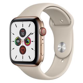 アップルウォッチ(Apple Watch)の【新品未使用】Apple Watch Series5 - 44mmゴールド(腕時計(デジタル))