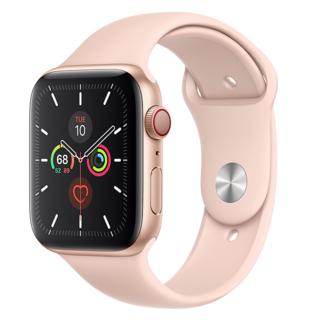 アップルウォッチ(Apple Watch)の【新品未使用】Apple Watch Series5 - 44mmGLD・PNK(腕時計(デジタル))