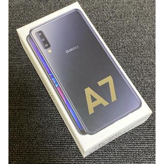 Galaxy - 新品未開封 Garaxy A7 ブラック SIMフリー