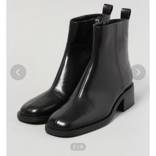 ジーナシス(JEANASIS)のJEANASISブーツ ブラック(ブーツ)