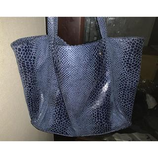 meeori ミオリ トート 青 calla bag