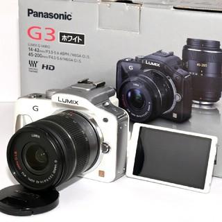 Panasonic - 【Panasonic】iPhoneに転送♡自撮り♡DMC-G3 レンズキット