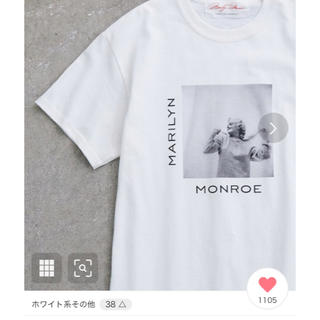 ROPE - ROPE' mademoiselle  マリリンモンローTシャツ