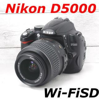 Nikon - ❤️バッテリー2個付き❤️スマホ転送❤️Nikon D5000