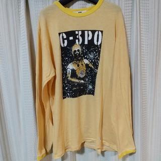 エドウィン(EDWIN)のEDWIN STAR WARS コラボ トリムTシャツ Lサイズ スターウォーズ(Tシャツ/カットソー(七分/長袖))