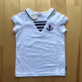 mikihouse - ★ミキハウス セーラーカラー 半袖Tシャツ 90★