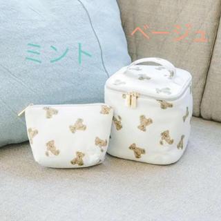 gelato pique - ジェラートピケ♡ ベアモチーフティッシュポーチ&バニティ