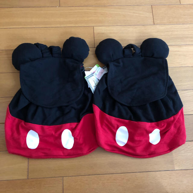 Disney(ディズニー)のミッキー リュック 2個セット キッズ/ベビー/マタニティのこども用バッグ(リュックサック)の商品写真