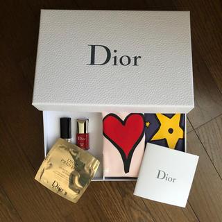 Christian Dior - 【新品】クリスチャンディオール ☆ポーチ&コスメセット