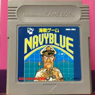ゲームボーイ(ゲームボーイ)のレトロゲーム ゲームボーイ 海戦ゲーム ネイビーブルー(携帯用ゲームソフト)