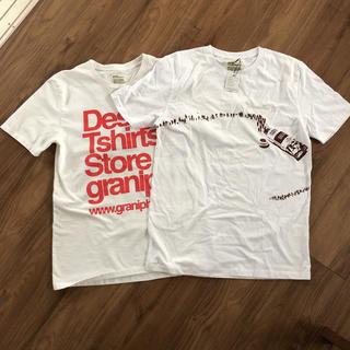 グラニフ(Design Tshirts Store graniph)のグラニフ 訳あり新品含む2枚セット(Tシャツ(半袖/袖なし))
