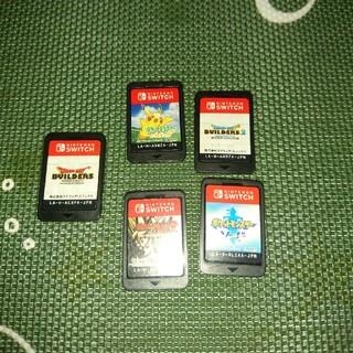 Nintendo Switch - switch ビルダーズ1・2 ポケモン ソード ピカチュウ ゼノバース2