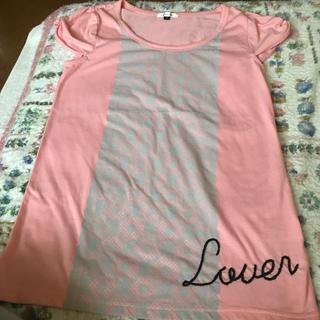 チュチュアンナ(tutuanna)のチュチュアンナ トップス ピンク(Tシャツ(半袖/袖なし))