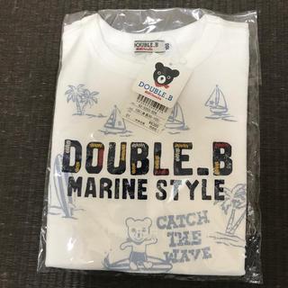 DOUBLE.B - 【DOUBLE_B】男の子 半袖 100