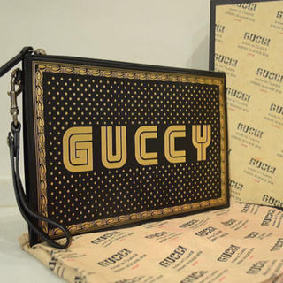 Gucci - 新品未使用本物■GUCCI グッチ■SEGA セガコラボ■セカンドバッグ