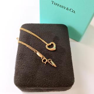Tiffany & Co. - Tiffany ティファニー ネックレス ピンクゴールド オープンハート