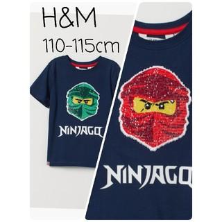 H&M - 新品 H&M リバーシブル スパンコール Tシャツ ニンジャゴー LEGO レゴ