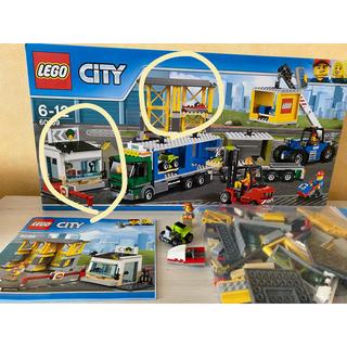 レゴ(Lego)のレゴ 60169 コンテナ配送センター 一部(知育玩具)