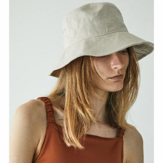 moussy -  LINEN COTTON BUCKET HAT