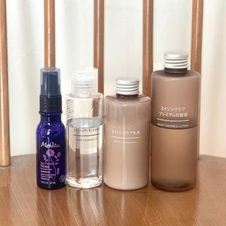 ムジルシリョウヒン(MUJI (無印良品))の無印 エイジングプレミアム化粧水 乳液 アーモンドオイル/メルヴィータ ミスト(化粧水/ローション)