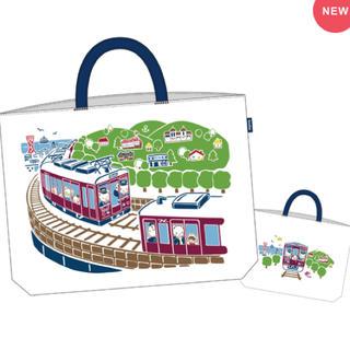 familiar - ファミリア 阪急電車 コラボレッスンバッグ