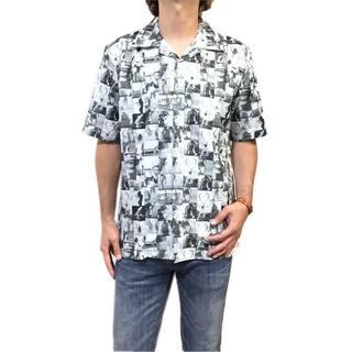 ギャルソンウェーブ(Garcon Wave)の新品 XL 希望小売価格 10,780円 フォトプリント 半袖シャツ ポリシャツ(シャツ)