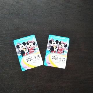 ディズニー(Disney)の未使用・リゾートライン1日券(大人2枚)◇送料無料◇(鉄道乗車券)
