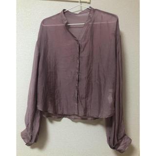 w closet - シアーシャツ