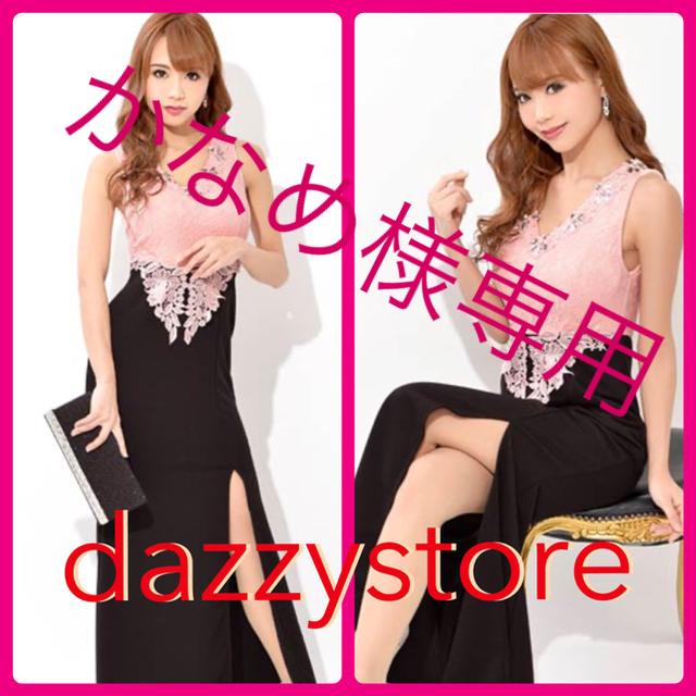dazzy store(デイジーストア)の最終値下‼️dazzy store スリット美脚見せ刺繍レースタイトロングドレス レディースのフォーマル/ドレス(ロングドレス)の商品写真