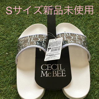 CECIL McBEE - セシルマクビーシャワーサンダルSサイズ新品未使用自宅保管品
