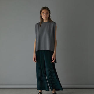 ENFOLD - Back long square knit tops