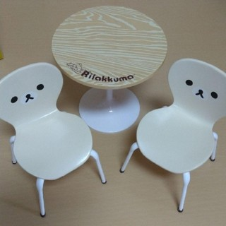 サンエックス(サンエックス)のコリラ リーメント 椅子 テーブル コリラックマ チェア ナチュラルカフェ(その他)