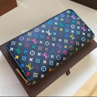 LOUIS VUITTON - 美品です正規品ルイヴィトンマルチカラージッピーウォレット 長財布