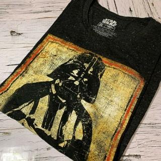 Tシャツ スターウォーズ STARWARS ダースベイダー ボックスプリント(Tシャツ/カットソー(半袖/袖なし))