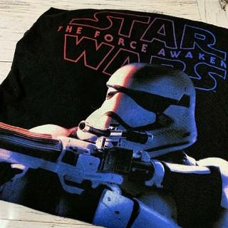 Tシャツ スターウォーズ STARWARS ストームルーパー ブラック 黒(Tシャツ/カットソー(半袖/袖なし))