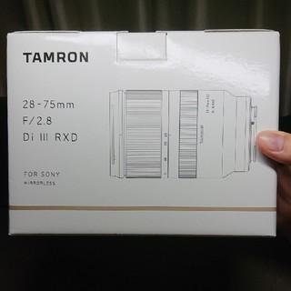 TAMRON - TAMRON 28-75 f2.8